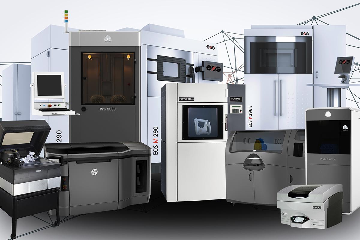 世界トップクラスの自社所有3Dプリンター