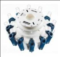 実験用遠心機の洗浄ローター製造の簡素化