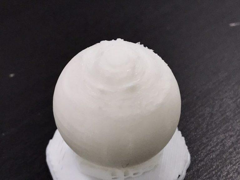 FDMで球体を綺麗に造形する