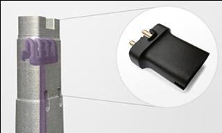 コンフォーマルクーリングデザインの金型を使って、携帯電話のプラスチック部品の製造