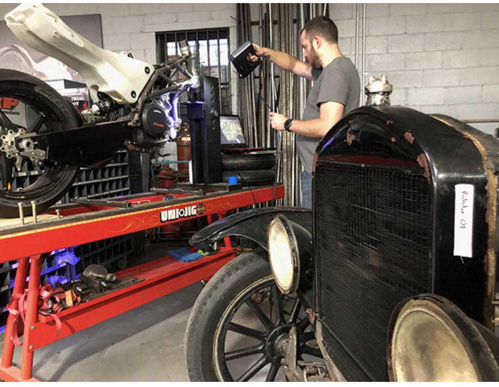 ヘンリー・フォードは自動車の3Dスキャンについてどう考えているのでしょうか?