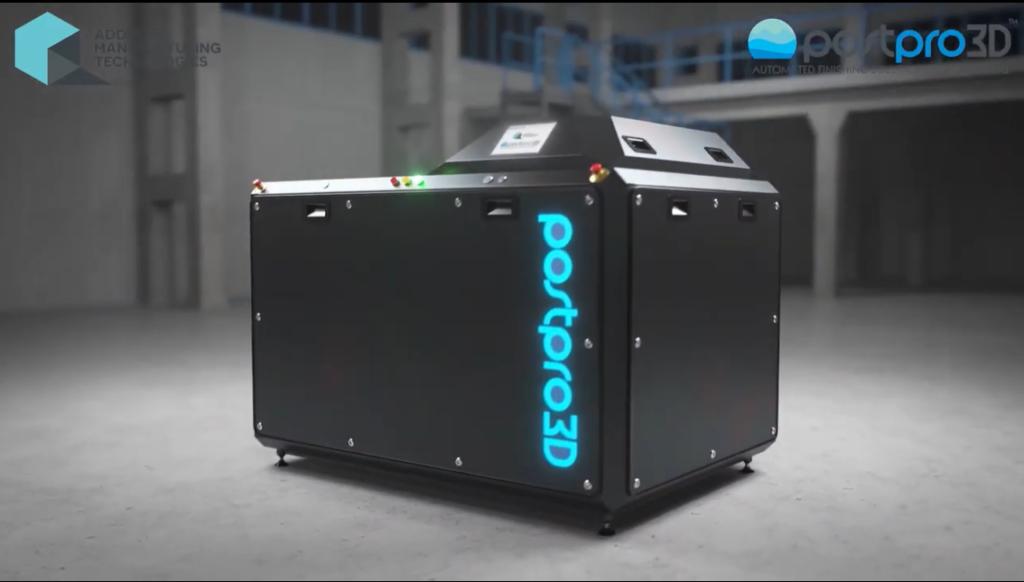 AMT PostPro 3D を使用した CFR 複合部品の後処理