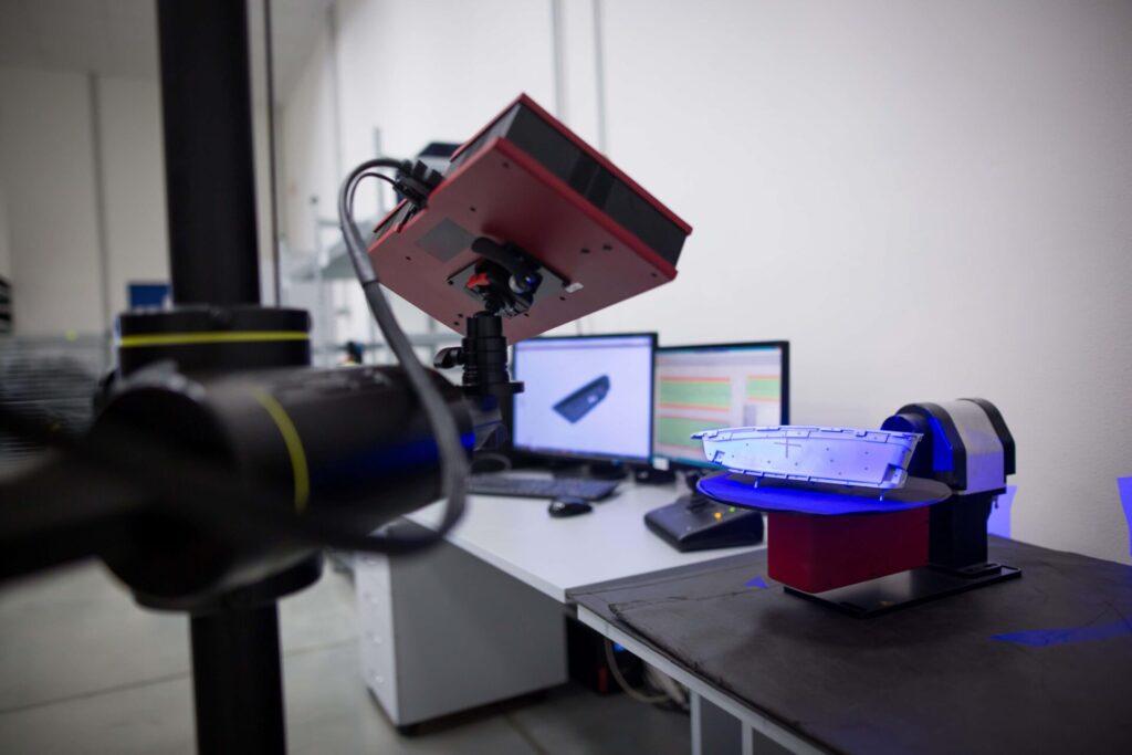 3Dスキャナーが頻繁に活用されているシーン