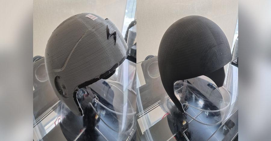 KIDO Sports社によるRaise3Dプリンターでヘルメット試作の革新
